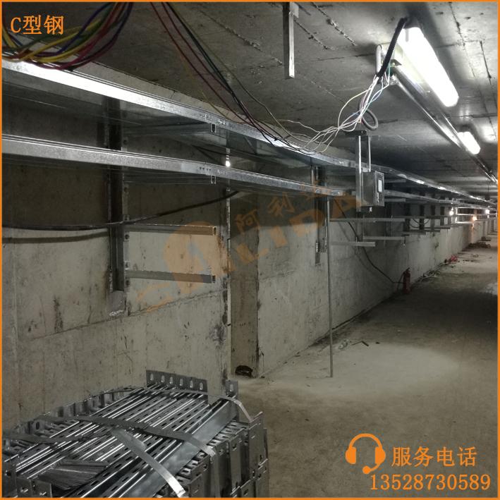佛山世紀蓮體育中心城市地下綜合管廊支架項目