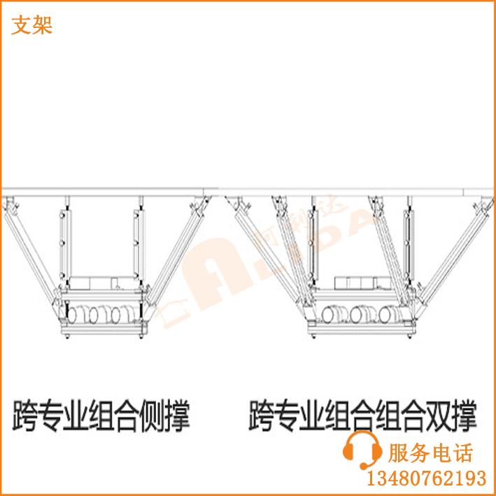 地鐵管廊支架 抗震支架 廣東省地下管廊綜合支架